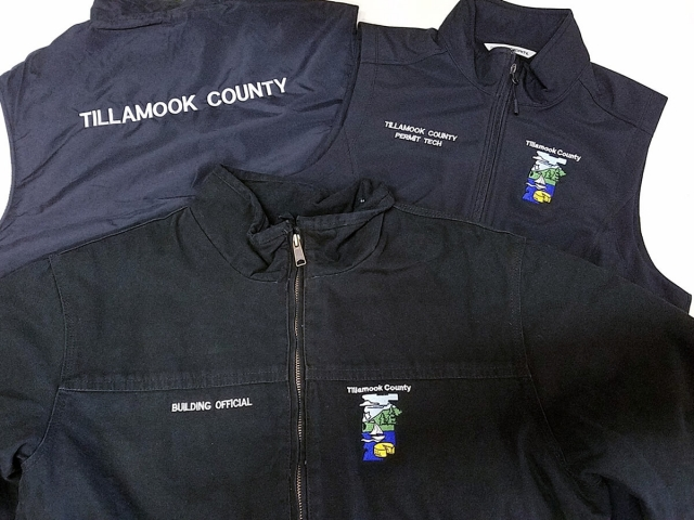 Custom Apparel Tillamook County PSI