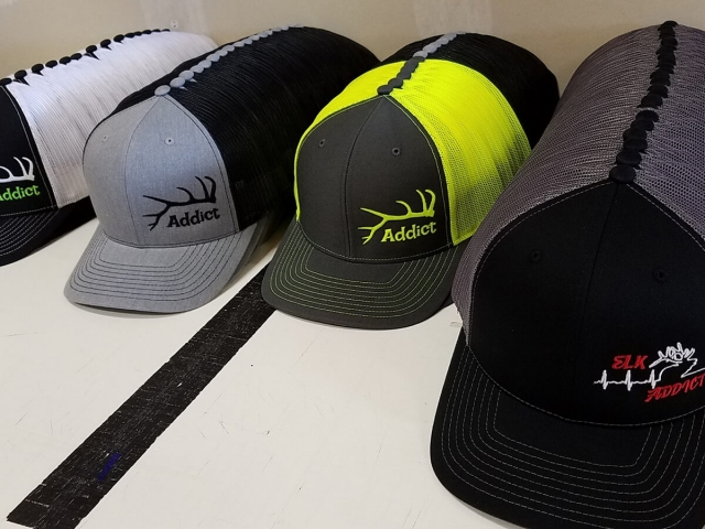 Elk Addict Oregon Custom Hats