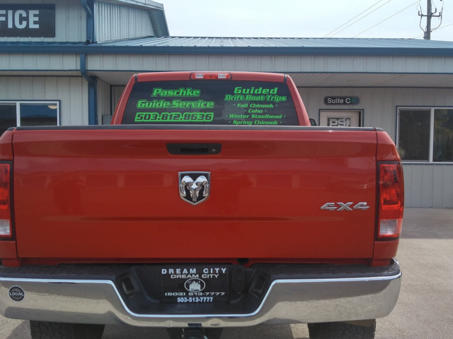 PSI Custom Pickup Truck Vinyl