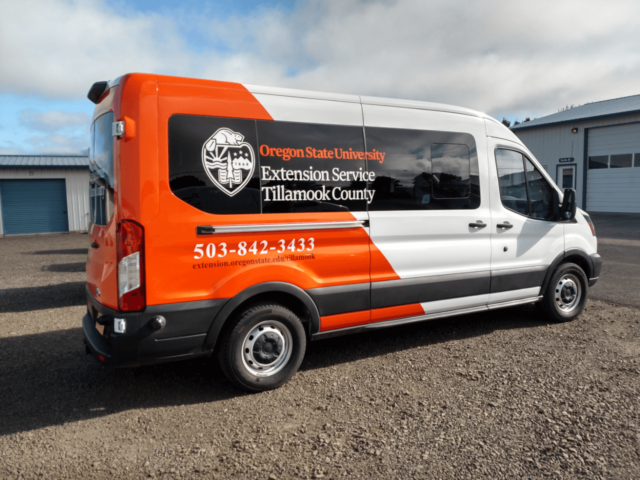 PSI Custom Van Vinyl Graphics Sign