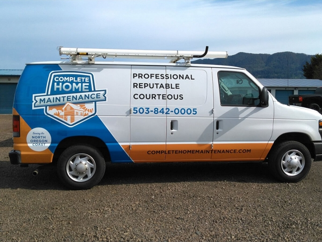 Tillamook Oregon Van Vinyl Wrap Decal